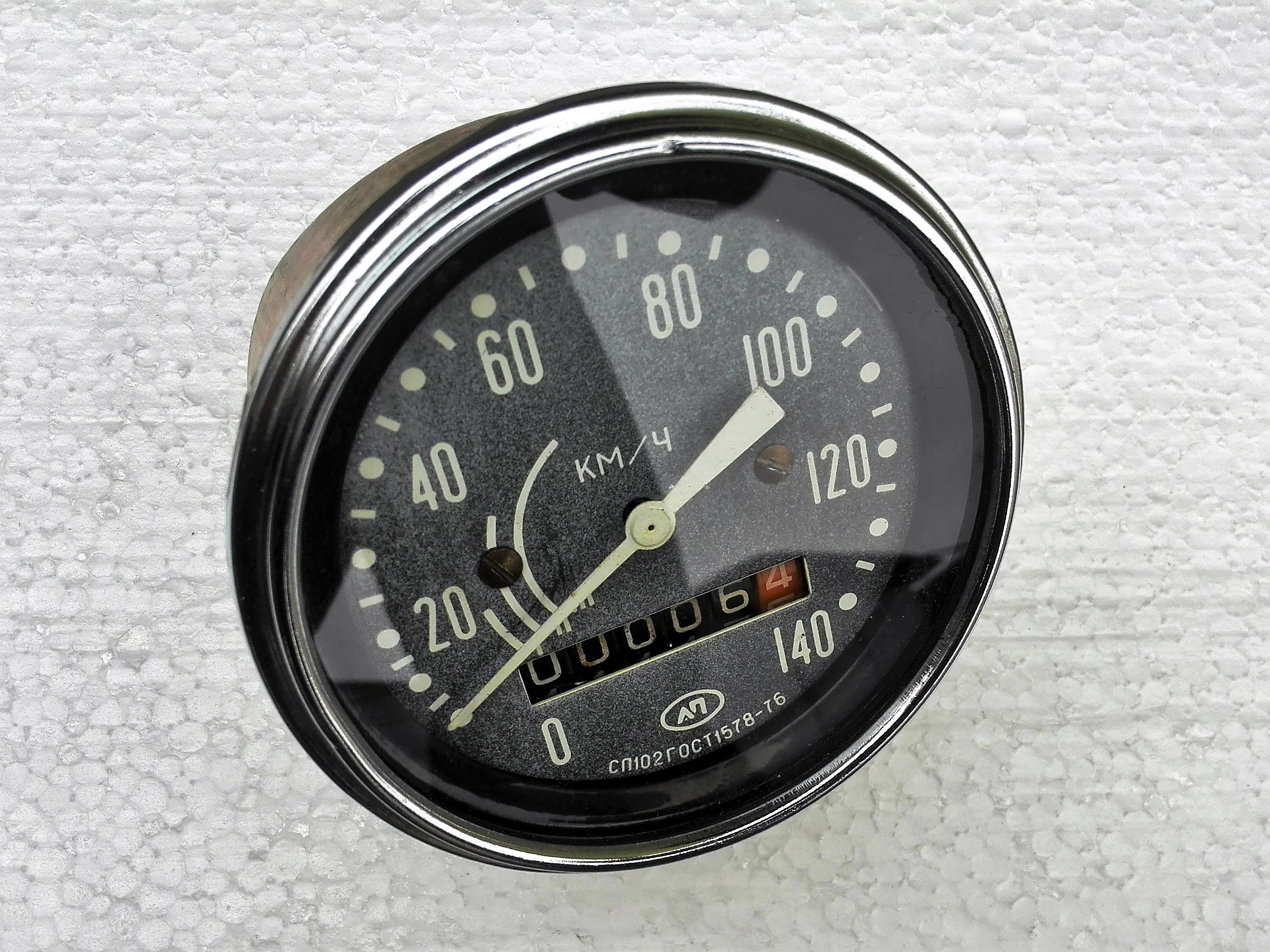 dnepr tacho speedometer compteur de vitesse velocimetro ebay. Black Bedroom Furniture Sets. Home Design Ideas
