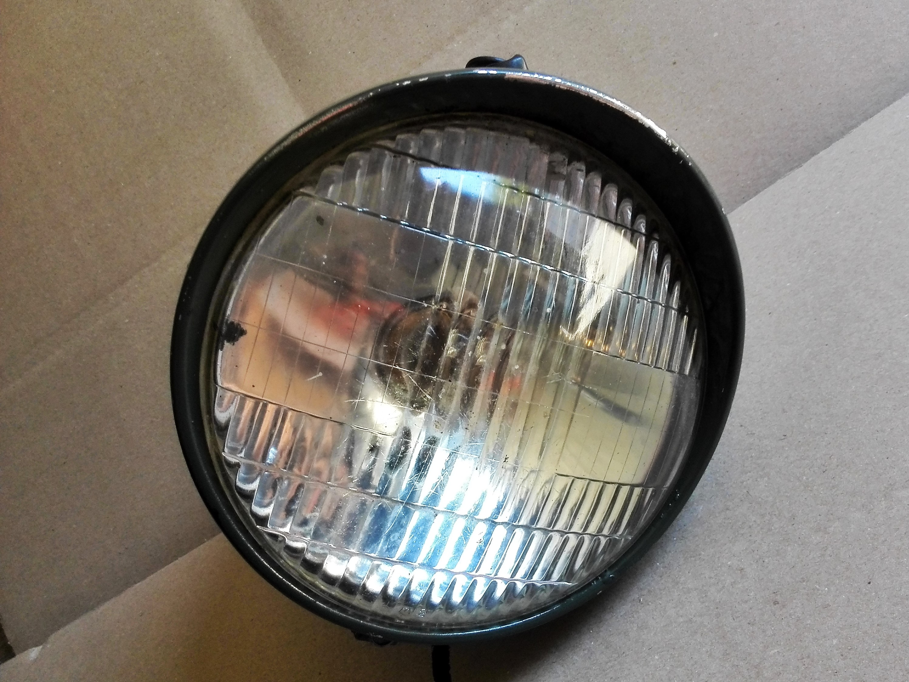 dnepr k750 bmw scheinwerfer lampe headlamp old style ebay. Black Bedroom Furniture Sets. Home Design Ideas